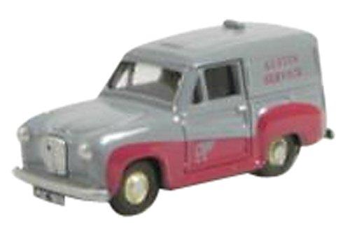 1/76 オースチンA30 AUSTIN SERVICE グレー/マルーン EM76661