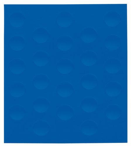 Franken M82501Magnetic Symbol 10mm, 20g, Blue (Rechteck-symbol)