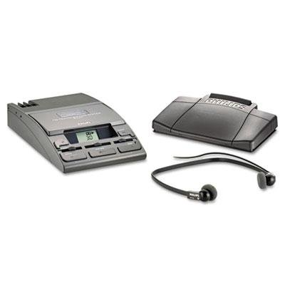 "Philips - 720-T Desktop Analog Mini Cassette Transcriber Dictation System W/Foot Control ""Product Category: Office Machines/Dictation Devices"""