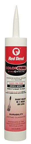 red-devil-0576-colorcure-pink-2-white-advanced-acrylic-sealant