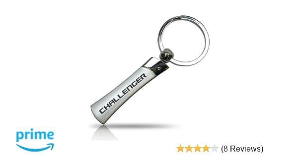 Metal Super Bee Bee Scat Pack Keychain Dodge SRT Keyring Pendant Key For Car