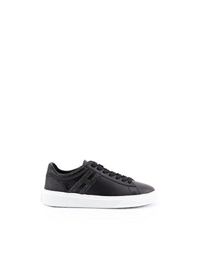 HXW3650J970IIHB999 Women's Leather Sneakers Black Hogan 6fw5qpp