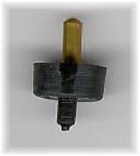 Pack 4 uds obturador grifo goma zapatilla negra 3//8-15