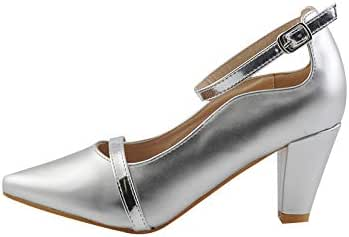 Madleen Dress Shoes for Women, Silver, 182266SLV39