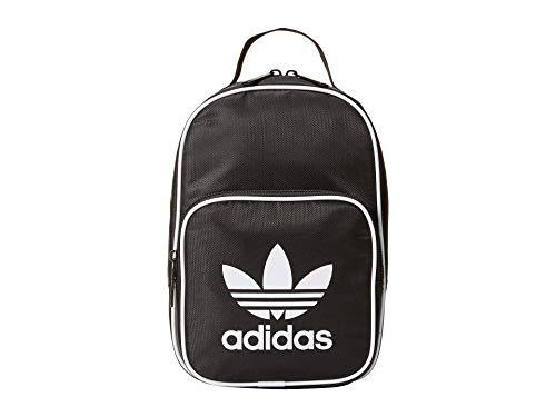 adidas Originals Santiago Lunch Bag, Black/White, One Size ()
