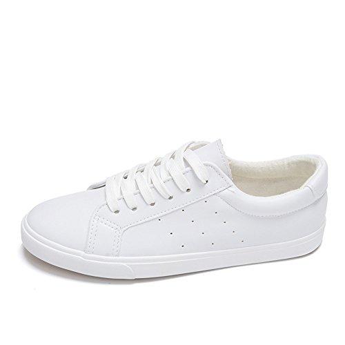 Men's up Lace Shoe Canvas Women's White01 Sneaker sexphd BOq5ZZ
