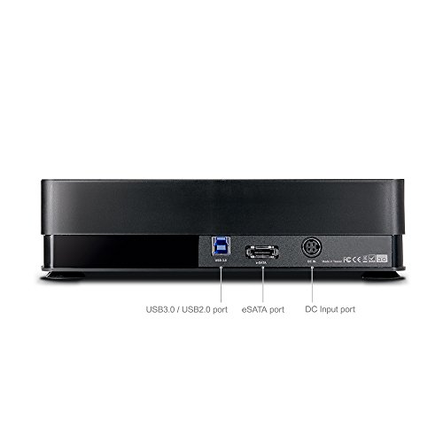 Mediasonic 4 Bay Dock for 2.5''/3.5'' SATA HDD/SSD - USB 3.0 & eSATA Support 12TB HDD (HFD1-SU3S2) by Mediasonic (Image #2)