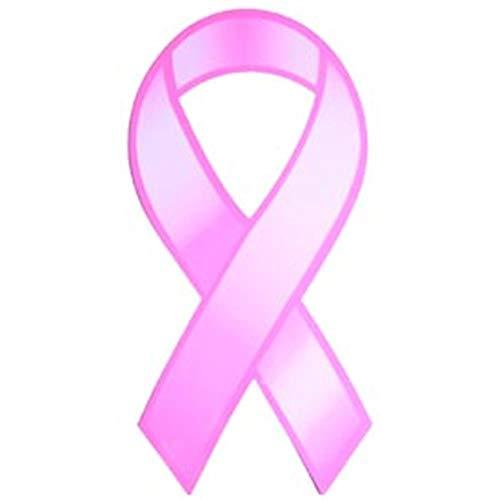 Imán de cinta rosa de 91,44 cm x 20,32 cm