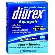 Diurex Aquagels, 20 sgels (Pack of 2)