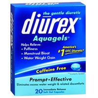 Diurex Aquagels, 20 sgels (Pack of 6)