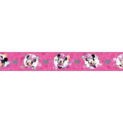 Wallpapers Minnie Mouse (York Wallcoverings Disney Minnie Mouse DY0173BD Wallpaper Border)