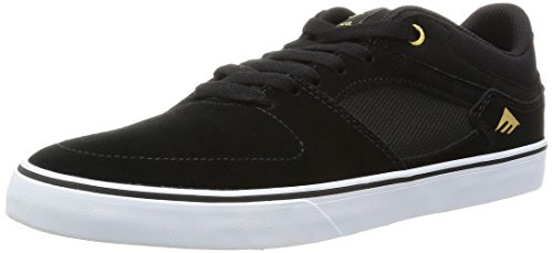Emerica The Hsu Low Vulc, Chaussures de Skateboard Homme Noir (Black White 976)