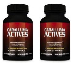Actives Caralluma - coupe-faim naturel pour perdre du poids et perdre du poids (2 bouteilles)