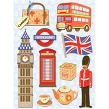 K & Company Happy Trails Grand Adhesions - London ()