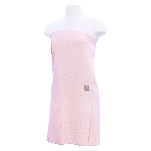 Aquis Microfiber Body Towel, Lisse Crepe, Pink (29 x 55-Inches) by Aquis
