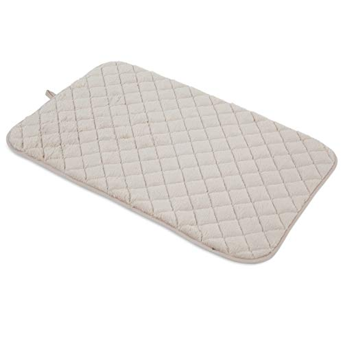 (SNOOZZY CREAM 35X21.5 QUILTED MAT)
