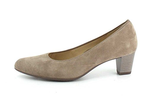 Ara Womens Kelly 41401-98 Pump Taupe Suede