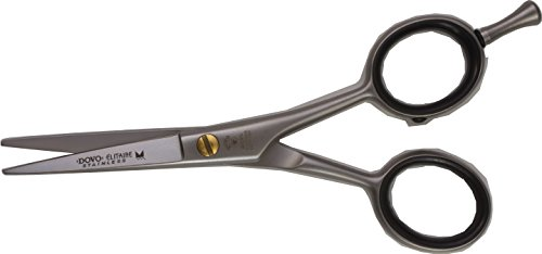 "Dovo Elitaire 4.5"" Shears, Stainless Steel with Removable Fi"