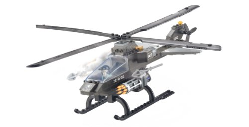 Air Force Attack Helicopter 3 In 1 – Building Set by Brictek (15706)