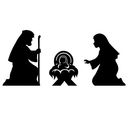 Fun Express - Nativity Silhouette Cutouts - Spiritually Uplift and Motivate - Perfect for Church for $<!--$10.65-->