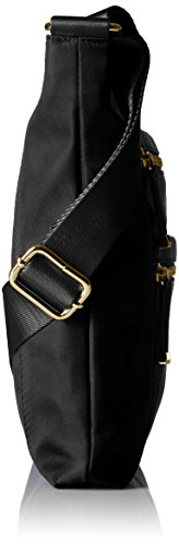 Black Crossbody Multi Klein Calvin Zip Nylon Gold xFAwq
