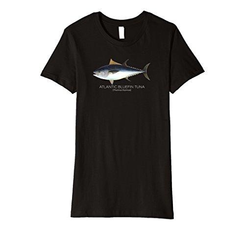 Womens Scientific Atlantic Bluefin Tuna | Fish T-shirt XL (Atlantic Tuna)