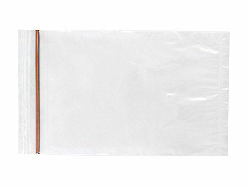 Lab Guard SBL2X69 Polyethylene LDPE//LLDPE Blend Plain Specimen Bag No Print Reclosable Pack of 1000