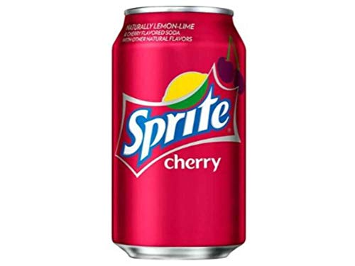 Sprite Cherry soda 12oz cans (pack of 12) (Diet Sierra Mist Cranberry)