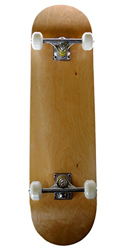 Runner Sports Complete Full Size Standard Maple Deck Skateboard (Natural