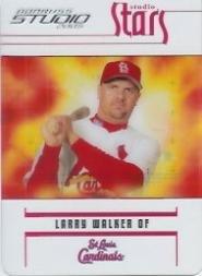 (2005 Studio Stars Baseball Card #37 Larry Walker)