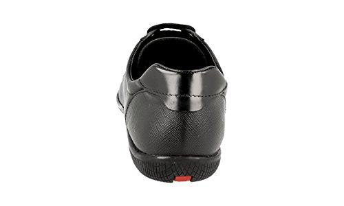 Prada Mujeres 3e5620 Saffiano Cuero Sneaker