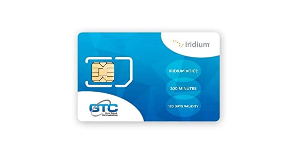 Amazon.com: Iridio Satellite teléfono Global tarjeta Sim de ...