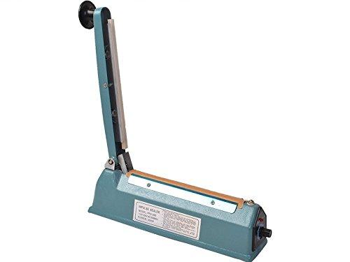 8' Impulse Heat Sealer Bag Sealer Sealing Machine Seal Machine Poly Tubing Plastic Bag Kit Teflon Tapes Portable And Compact Size Metal Case