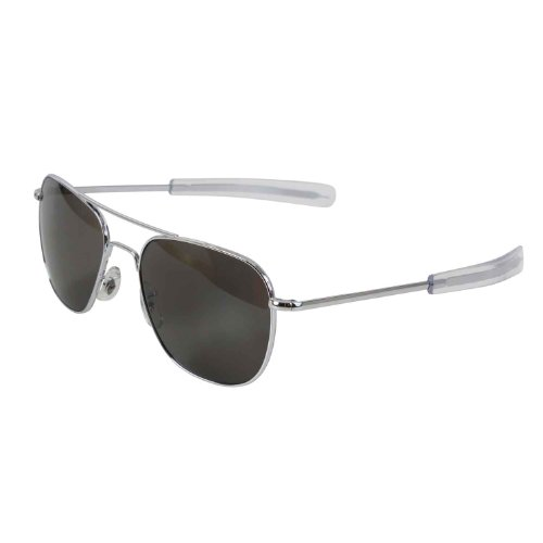 Amazon.com  American Optics Chrome GI 57mm Air Force Pilots Sunglasses   Shoes 5db25b928b1