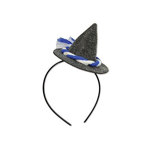 Beistle Oktoberfest Peasant Hat Headband