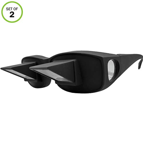 a16609a945e3 Amazon.com: Evelots Prism Bed Glasses-Read/Watch TV Lying Down-Use Over  Your Glasses-Unisex: Health & Personal Care