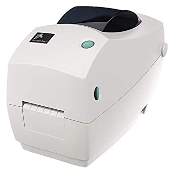 Zebra - TLP2824 Plus Thermal Transfer Desktop Printer for labels, Receipts, Barcodes, Tags, and Wrist Bands - Print Width of 2 in - Serial and USB ...
