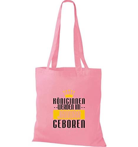 De Königinnen Im Tela Nacido Rosa Januar Werden Bolsa Shirtstown Zw1PxWnqvC