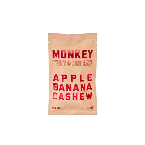 MONKEY BAR, Fruit & Nut Bar, Banana Cashew Apple, Gluten Free, Vegan, Whole 30 Compliant, 1.7 oz Bars (7 Count) (Best Food Gifts From Dc)