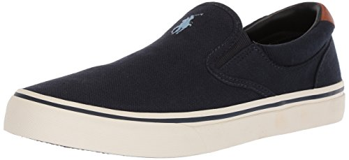 Polo Ralph Lauren Men's Thompson II Sneaker, Aviator Navy, 12 D - Ralph Lauren Aviators