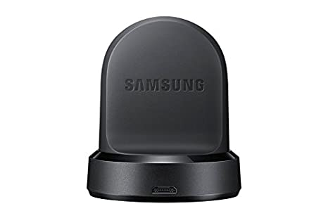 Samsung Genuine OEM Original Wireless Charging Dock Cradle Charger Ep-YO760 for Gear S3 Classic (Sm-R770) and Gear S3 Frontier (Sm-R760, Sm-R765)