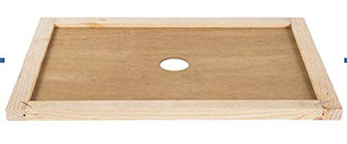 (Shadwins 8 Frame Wood Inner Cover with Round Center Hole)