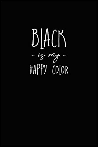 62f7cd6ffe9 Buy Black Is My Happy Color: Black Journal with Black Paper Book ...