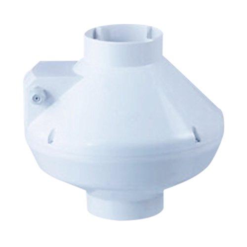 (Acme Miami AFR-100 4 in. Centrifugal Fan Plastic Housing - 168 CFM - White )