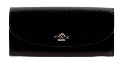 Coach Crossgrain Leather Slim Envelope Women's Wallet