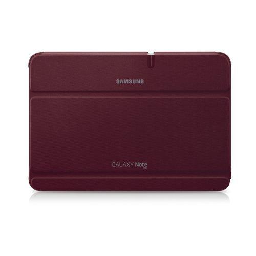 Samsung Galaxy Note 10.1磁気ブックカバー – レッド   B00D02MIK0