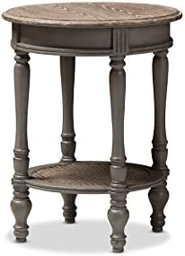 Baxton Studio Christine Coffee Table, Brown
