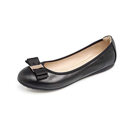 317b80504392b Amazon.com | Fnnetiana Womens Classic Comfort Slip on Ballet Flats ...