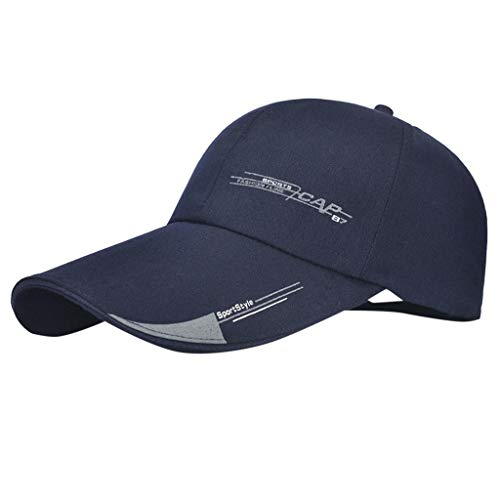 Unstructured Baseball Cap Quick Dry Sports Hat Lightweight Breathable