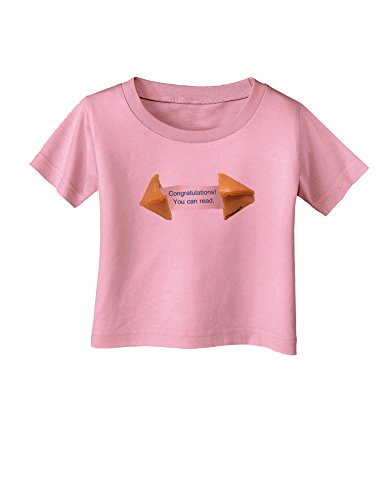 TooLoud Sarcastic Fortune Cookie Infant T-Shirt - Candy Pink - 18Months ()